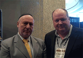 Robbi Daniel Lapin - Best Selling Author | Claude Whitacre Meeting The Rich And Famous