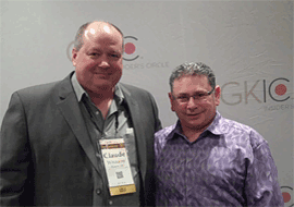 Jeff Slutsky - Street Smart Marketing Author | Claude Whitacre Meeting The Rich And Famous
